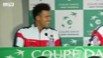 Coupe Davis : l'appel Facetime de Gaël Monfils en pleine conférence de presse