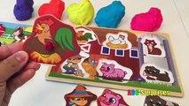 Pour amusement amusement enfants Apprendre apprentissage des noms cheville examen jouets en bois Safari animal animal puzzle abc s