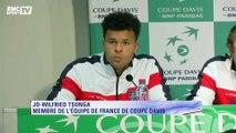 """Coupe Davis - Tsonga : """"Je suis tout simplement content pour l'équipe"""""""