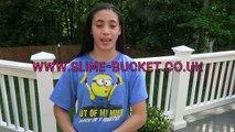 The Slime Bucket Challenge | #SlimeBucketChallenge | Action for Children | In Mads World