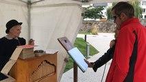 Journées du patrimoine au château d'Ancenis, c'est en musique avec l'orgue de barbarie !
