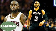 LeBron James BREAKS MJ's Playoff Record, Chris Paul to the Spurs? -The Huddle