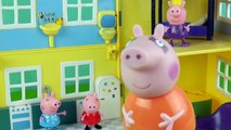 The Three Little Pigs story time with Peppa Pig - Fairy Tales for children 3 little pigs