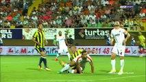 Aytemiz Alanyaspor 1-4 Fenerbahçe maç özeti