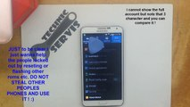 How To Bypass / Remove Reivation Lock on Samsung Galaxy Note 3 / S5 - Locked by Samsung Account