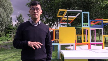 Un habitable, installation plasticienne de Mengzhi Zheng - Festival Art Villes et Paysage - Hortillonnage 2017