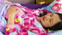 Doc McStuffins Mommy Tummy Ache Checkup, Doc McStuffins Gives Mommy a Checkup