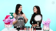 Watch Michelle Phan Unbox Newest Em Cosmetics Beauty Products | Beauty With Mi | Refinery29