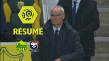 FC Nantes - SM Caen (1-0)  - Résumé - (FCN-SMC) / 2017-18