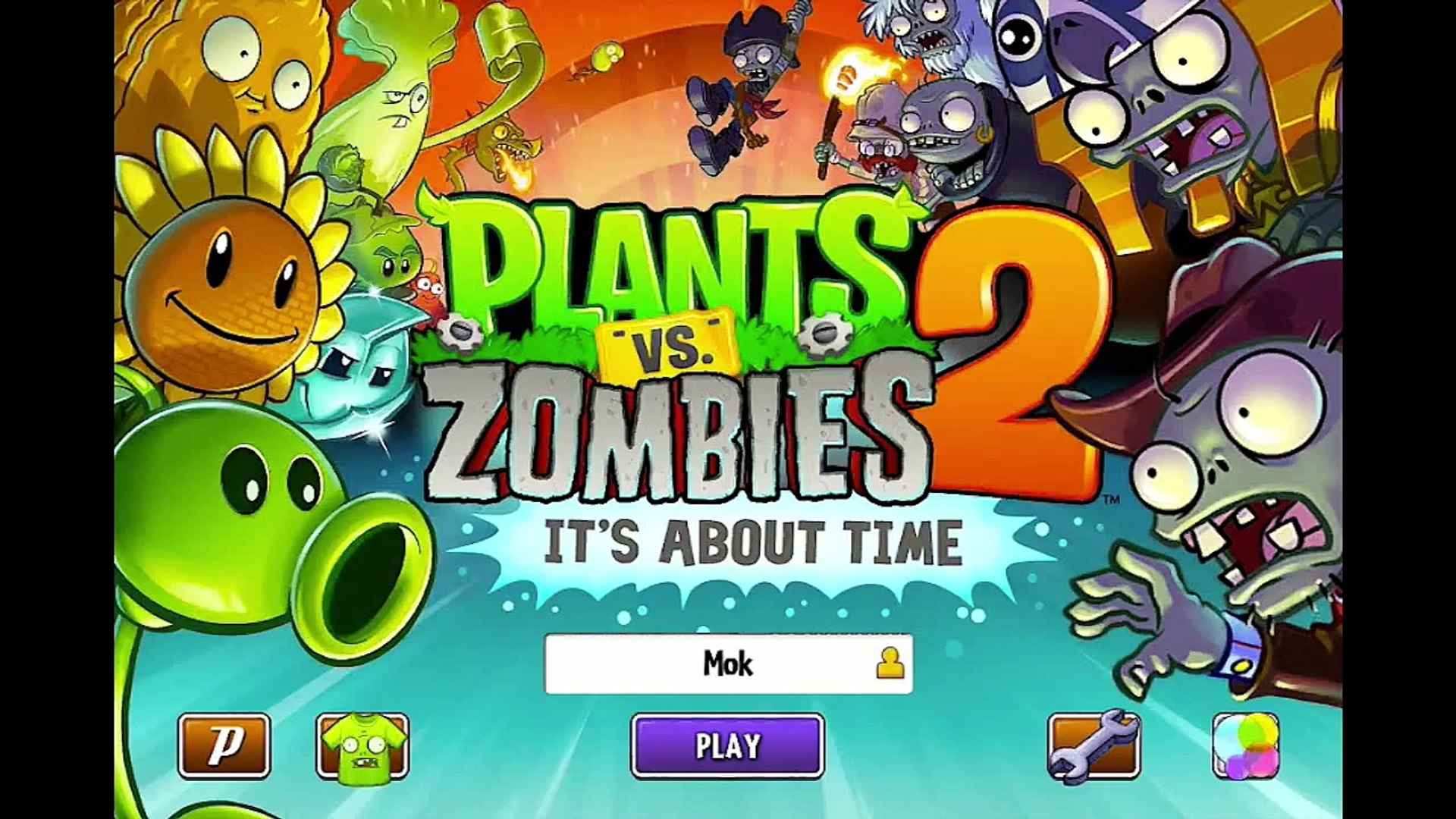 Pirate Seas Day 25 - Zombot Plank Walker - Plants vs Zombies 2 Its About Time
