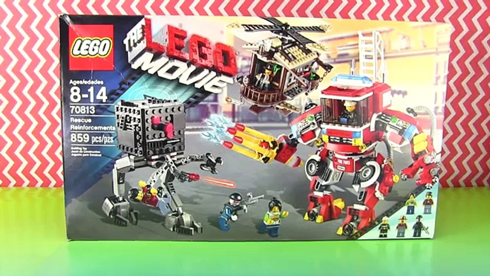 Lego Movie Rescue Reinforcements Set 70813 Fire Mech Build By Hobbykidstv Video Dailymotion