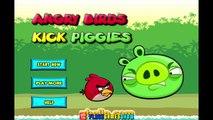 Angry Birds Kick Piggies Full Game Walkthrough All Levels