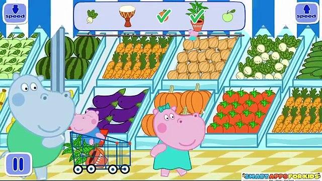 Peppa Pig Harriet Hippo Baby Shop - best app demos for kids - Philip