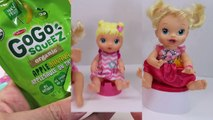 Baby Alive Dolls Potty Training Baby Doll Eating Food and Pooping Poop Diaper Change