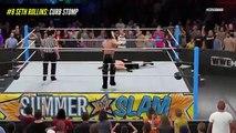 WWE 2K15 TOP 10 FINISHERS! | WWE 2K16 Countdown