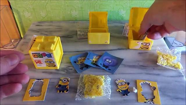 new Minions Movie Ceramic Mug and Surprise Cube Toys Unboxing – Sorpresa
