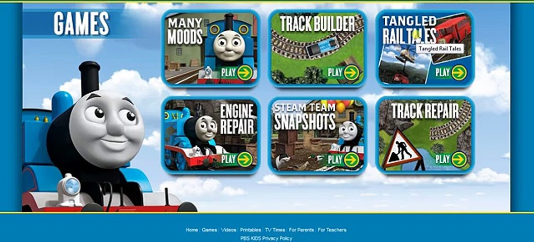 Thomas and Friends Tangled Rail Tales game full HD