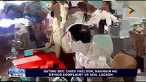 Dating BOC Chief Faeldon, naghain ng ethics complaint vs Sen. Lacson