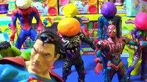 Bébé homme chauve-souris épisodes gelé ponton Nouveau jouer Fille de laraignée homme araignée super-héros Joker elsa doh s