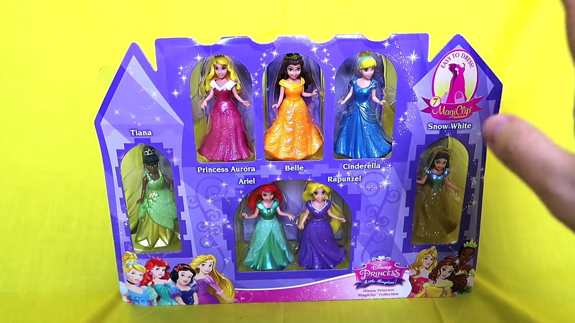 Magiclip Disney Exclusive The Little Mermaid Arial Deluxe Figure Fashion set
