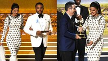 Emmys 2017  Priyanka Chopra Presented An Award To John Oliver  Emmys Awards 2017 Red Carpet