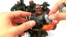 All Lord of the Rings Toy Biz Uruk-Hai figures released and my LOTR collection