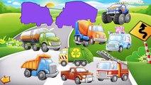 Des voitures et camions pour enfants Apprendre les couleurs Véhicules vidéo pour enfants