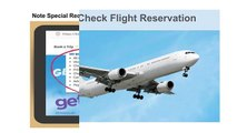 How to Check Flight Reservations - 1-844-313-7010 - Airlines Booking Number