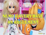 NEMO & AVERY HAVE AN ARGUEMENT HI-5 TOYS PLAY FINDING DORY MOXIE GIRLZ DISNEY PIXAR