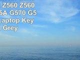 Replacement for Lenovo Ideapad Z560 Z560A Z565 Z565A G570 G575 Series Laptop Keyboard Grey