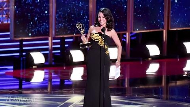 Julia Louis-Dreyfus Breaks Emmys Record & 'Veep' Wins Best Comedy   THR News