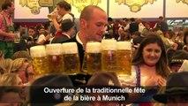 Oktoberfest de Munich : le festival de la bière ouvre