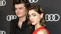 EXCLUSIVE: 'Stranger Things' Stars Joe Keery and Natalia Dyer Step Out Together for Pre-Emmys Event