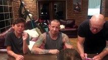 Chester Bennington en famille 36h avant de se pendre chez lui...