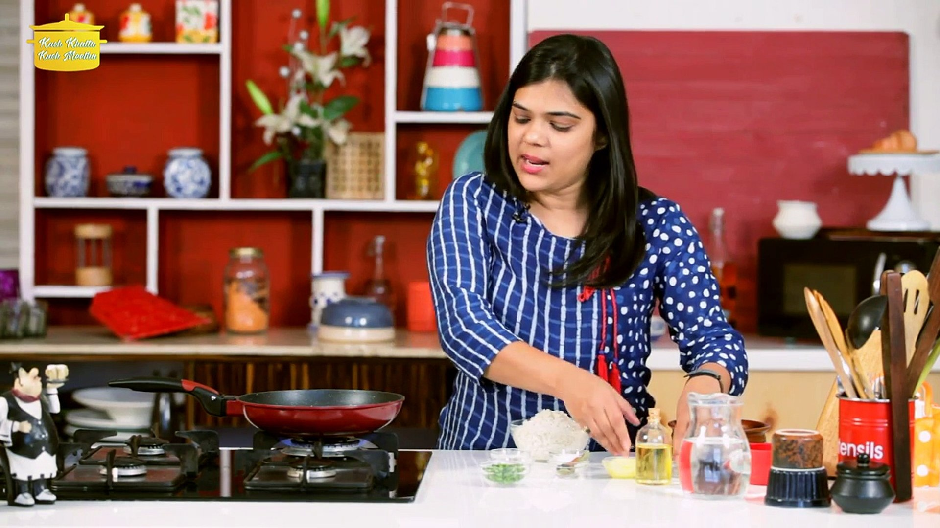 How To Make Jeera Rice (Cumin Rice)  जीरा चावल -- Rice Recipe -- Neha Mathur -- Whisk Affair