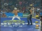 AAA-Sin Limite  2009.08.17  Tehuacan  01 Argenis, Atomic Boy & Relampago vs. Poder del Norte
