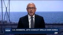 i24NEWS DESK | U.S. bombers, jets conduct drills over Korea | Monday, September 18th 2017