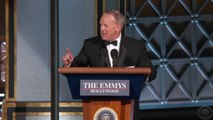Sean Spicer Crashes Colber's Emmy Monologue