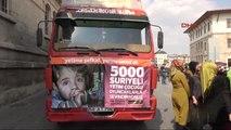 Sivas'tan Suriyeli Çocuklara 5 Bin Oyuncak