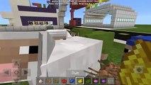 Working Garage Door Minecraft Pe Pocket Edition Mcpe Command