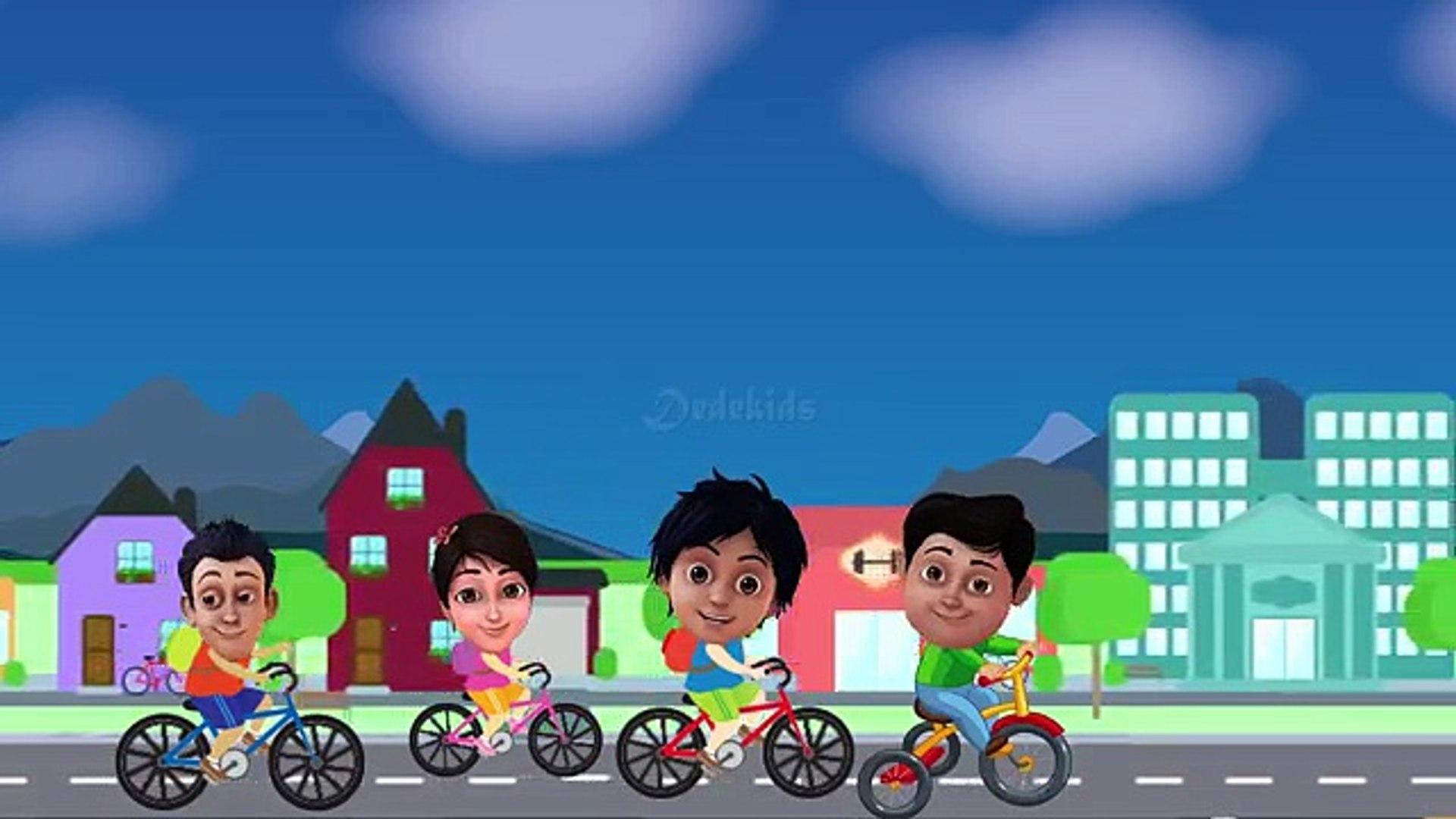 Kartun Shiva ANTV Naik Sepeda Kumbang Kring Kring Goes Goes