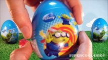 6 EPIC TOY STORY SURPRISE EGGS!!! - Buzz Lightyear & Woody (Disney Toys) Kinder Surprise