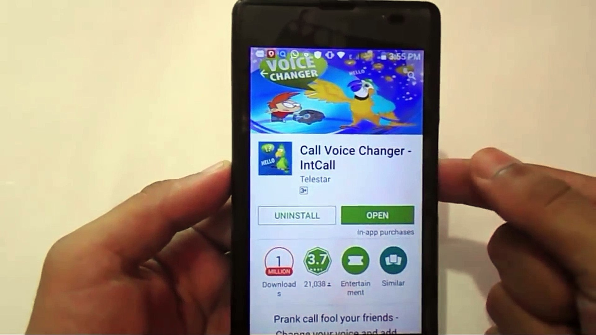 How To Change Voice During Call?