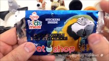 2016 ARBYS PET SHOP KIDS MEAL TOYS V McDONALDS THE SECRET LIFE OF PETS MOVIE HAPPY MEAL TOYS SET 7
