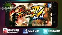 NUEVO! Street Fighter IV Arena Para Android [Grandioso Juego de Peleas]
