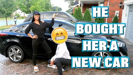 HE BOUGHT HER A NEW CAR!!! #12