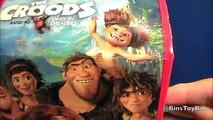 Dreamworks CROODS new Happy Meal Toy Review! + Shout Outs! by Bins Toy Bin