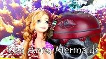 Poupées gelé petit sirène sirènes parodie Princesse le le le le la Anna ariel disney p2 disneycartoy