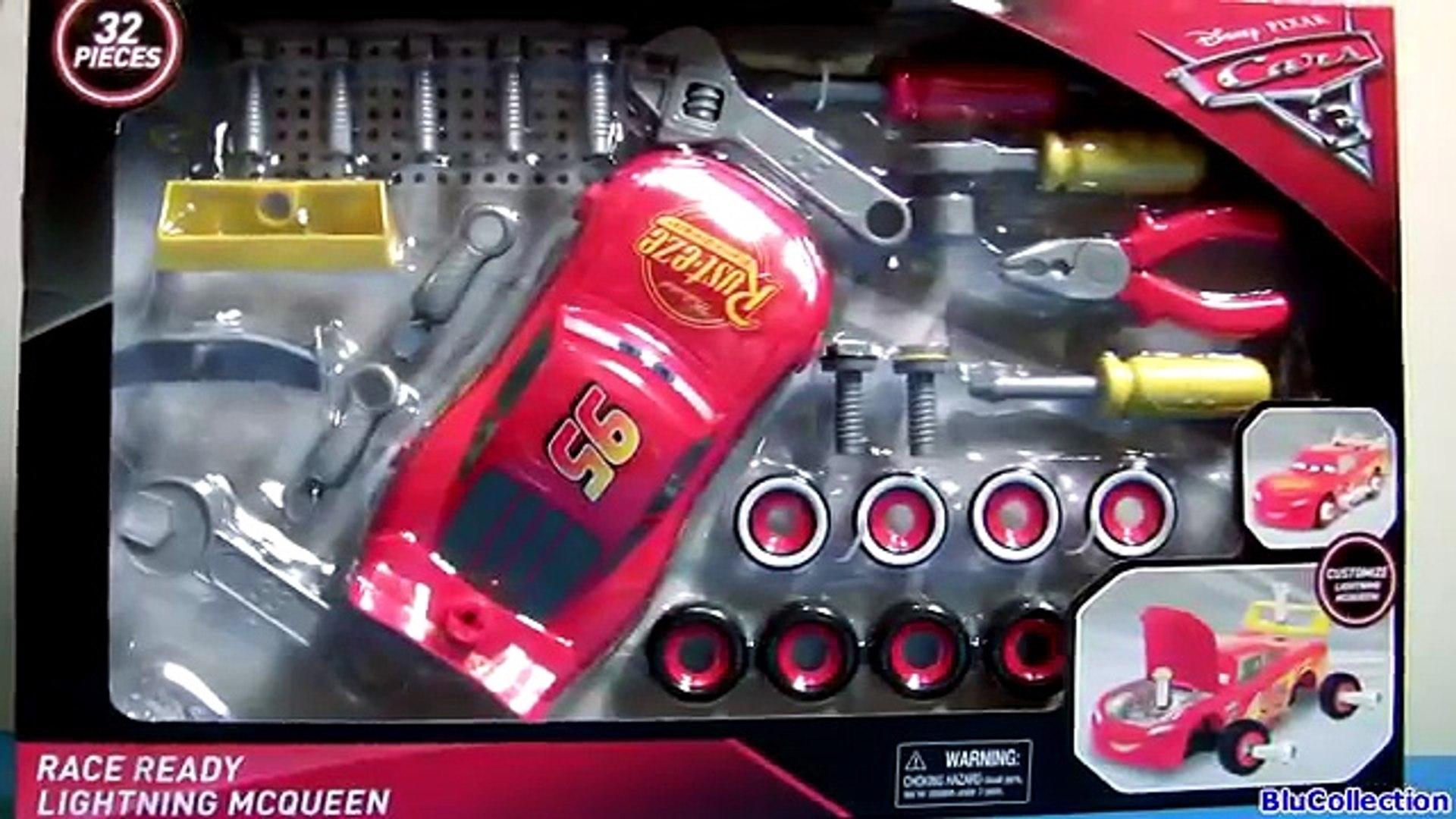 Cars 3 Race Ready Take Apart Lightning Mcqueen Toy Transforming Tool Kit Center 2017 Disney Toys