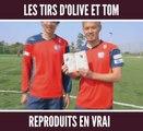 Ces deux joueurs japonais reproduisent les buts les plus mythique d'Olive et Tom en vrai !